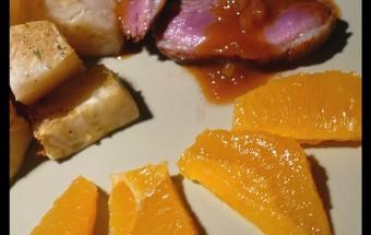 canard-orange-thé-miel