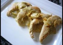Poulet aux endives et au curry