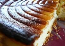 THE gâteau au fromage blanc alsacien