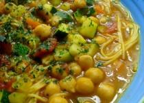 Soupe d'inspiration marocaine à l'agneau
