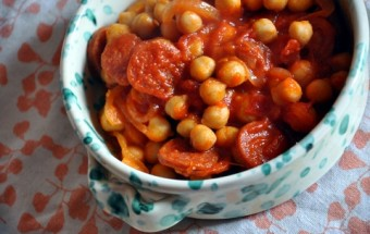 pois chiches chorizo