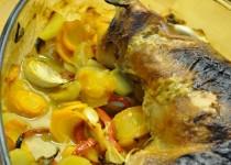 Cuisse de dinde au four miel et moutarde