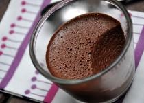 «Crème» amandine au chocolat