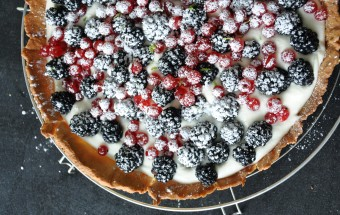 tarte fruits rouge UNE