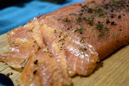 Saumon gravlax - Saumon gravlax rapide ...