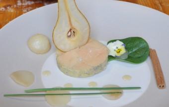 foie gras vapeur aux poires 1